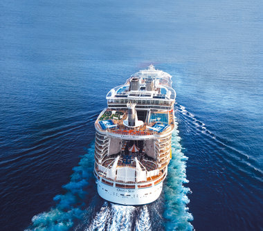 Oasis of the Seas cruises in de Middellandse Zee