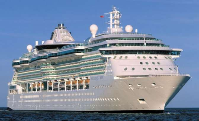 Brilliance of the Seas uit Radiance klasse Royal Caribbean