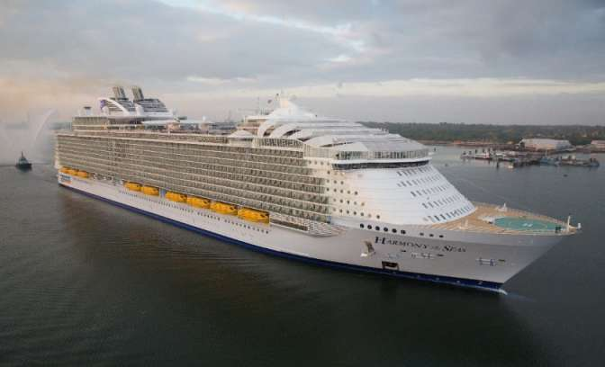 Harmony of the Seas uit Oasis-klasse van Royal Caribbean