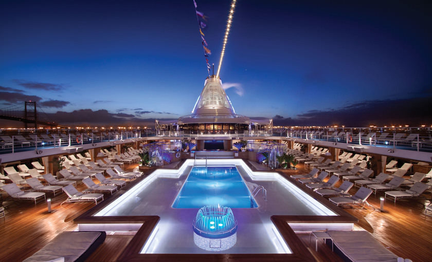 Pooldeck Oceania cruises