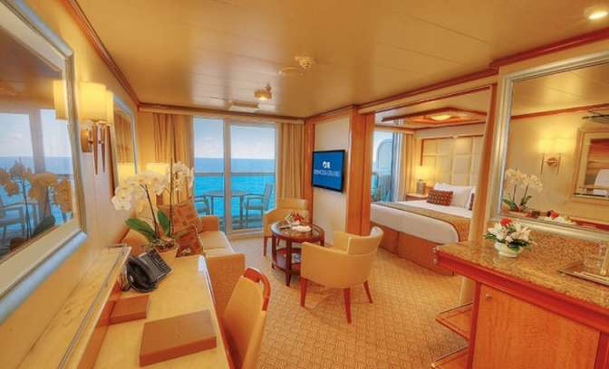 Suite van Regal Princess