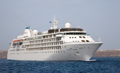 Cruiseschip Silver Wind van rederij Silver Sea