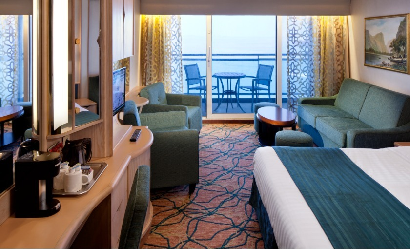 Suite op de Rhapsody of the Seas